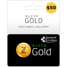 $50 Razer Gold Global PIN