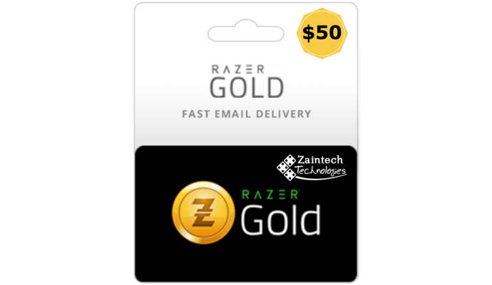 $50 Razer Gold USA PIN