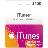 $100 iTunes Gift Card - US Region