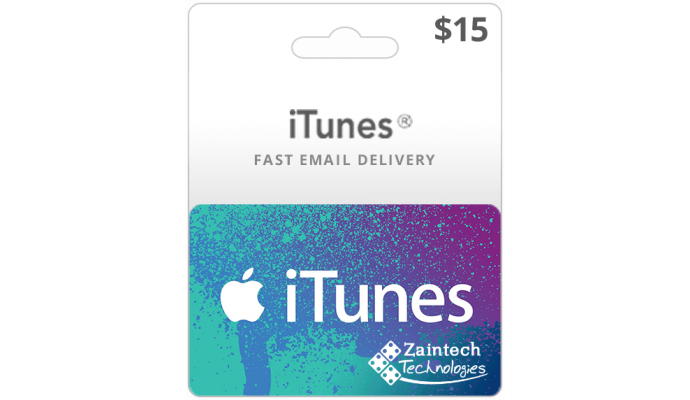 $15 iTunes Gift Card - US Region