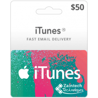 $50 iTunes Gift Card - US Region